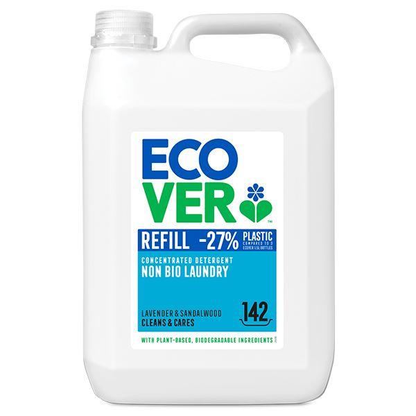 Ecover Non Bio Laundry Liquid Concentrated 5 Litre Refill