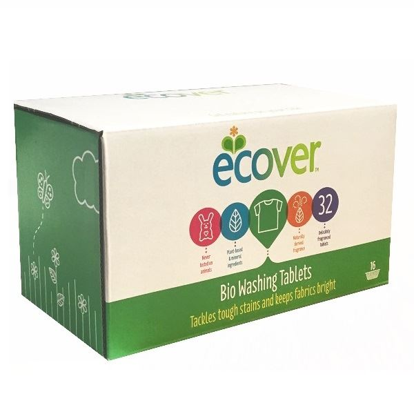 Ecover Bio Laundry 32 Tablets Pack of 5