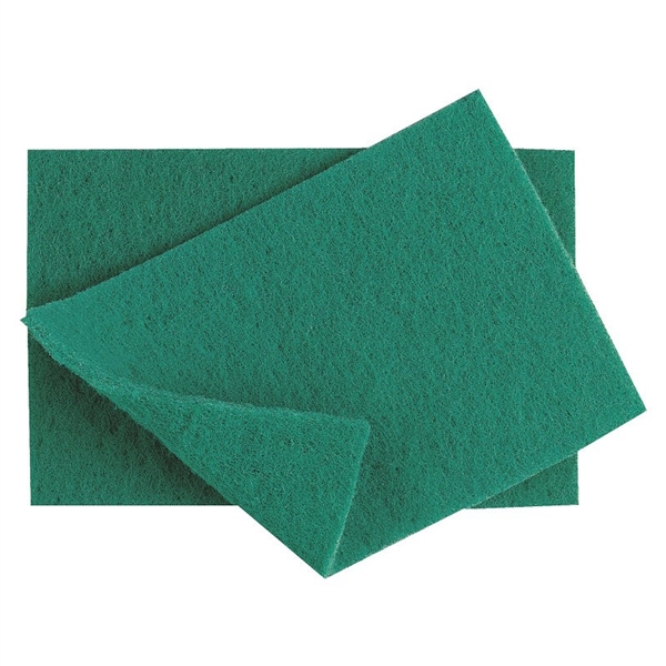 Heavy Duty Green Scourers - Pack of 10
