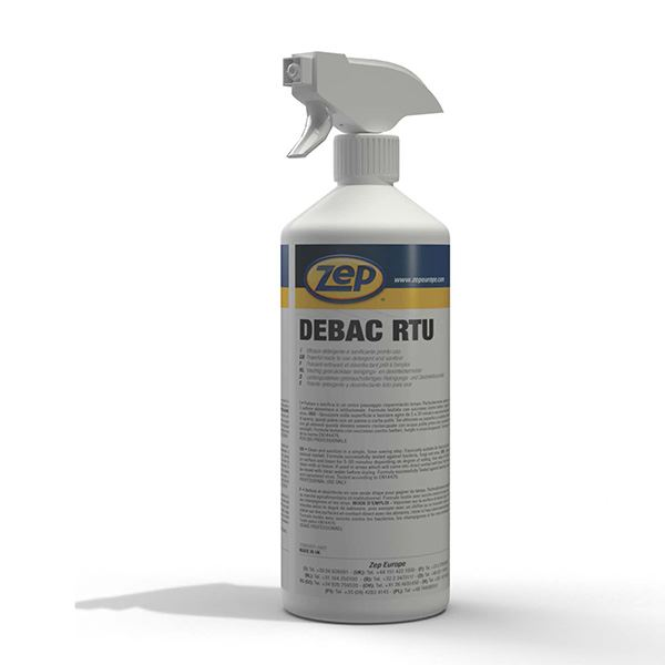 ZEP Debac Ready-To-Use Sanitising Spray 1 Ltr