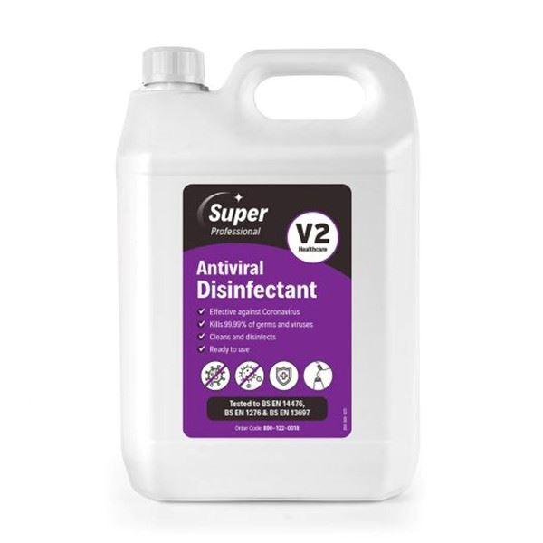 Mirius V2 Antiviral Disinfectant 5 Litre Refill