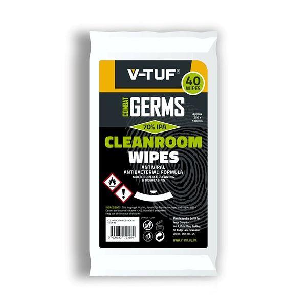 V-TUF Anti-Viral Alcohol Wipes