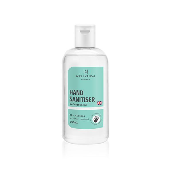 Wax Lyrical Hand Sanitiser Liquid 70% Alcohol 250ml