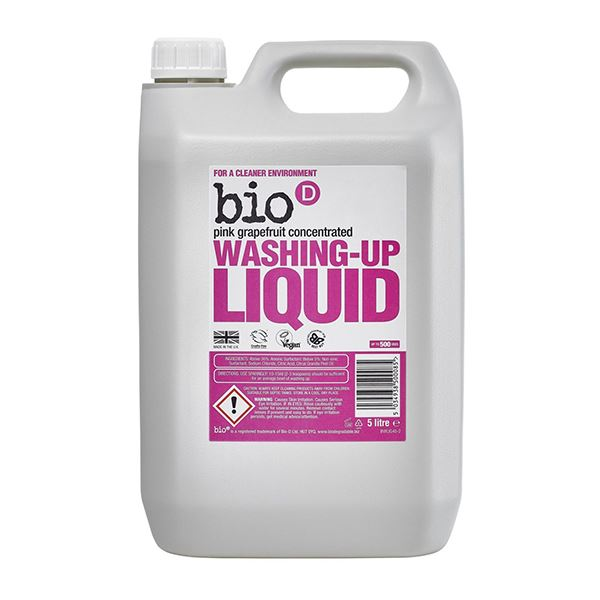Bio D Washing Up Liquid Pink Grapefruit