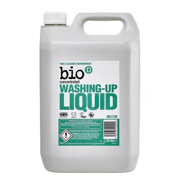 Bio D Washing Up Liquid Refill 5 Litre Pack of 4