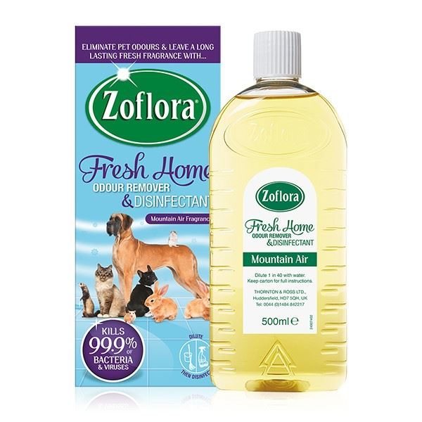 Zoflora Fresh Home Odour Remover and Disinfectant Mountain Air 500ml