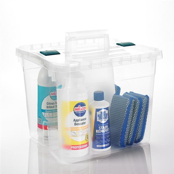 Cleaning Caddy With Lid