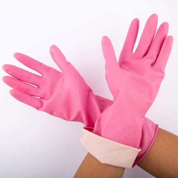 Cumfies Pink Rubber Gloves