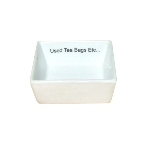Porcelain Tea Bag Tidy