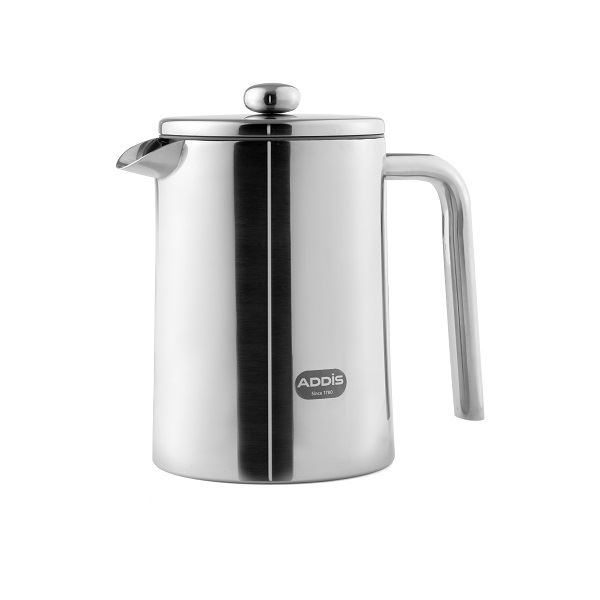 Addis 1.2ltr Stainless Steel Cafetiere