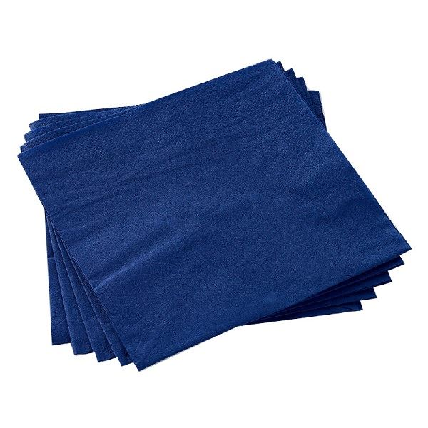 2 Ply Paper Napkins Dark Blue