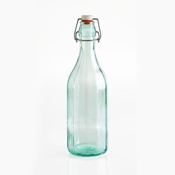 Recycled Glass Water Bottle