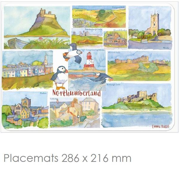 Northumberland Place Mats & Coasters