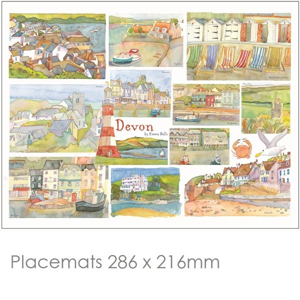 Devon Place Mats & Coasters