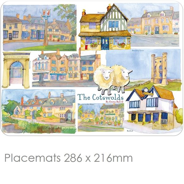 Cotswolds Place Mats & Coasters