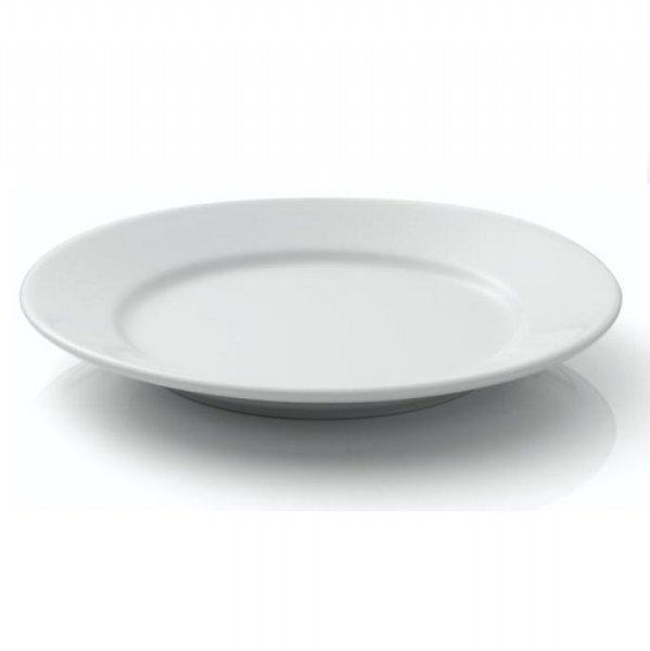 Porcelite Wide Rimmed Plates