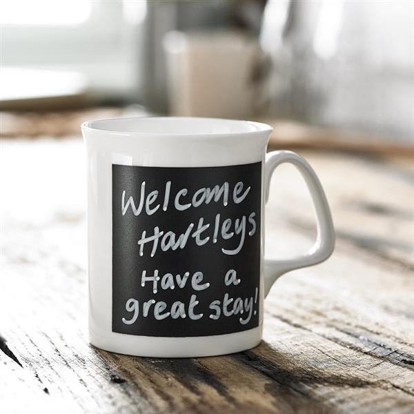 Personalised Chalk Board Mug and Pens
