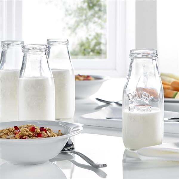 Dairy Mini Milk Bottles