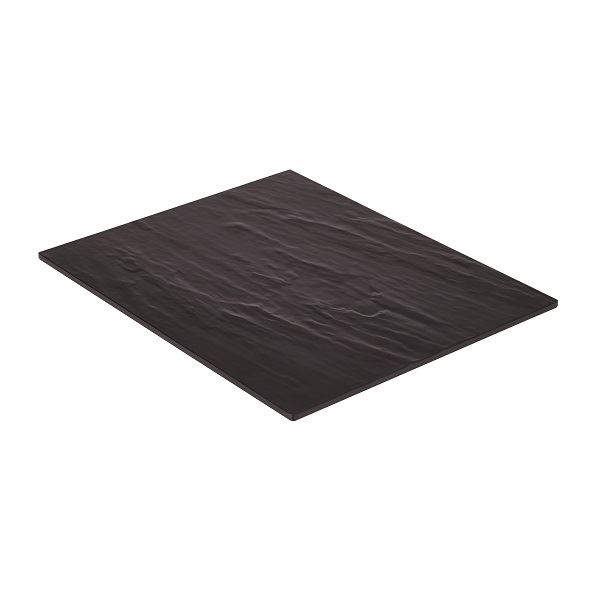 Melamine Platter Black 325 x 265mm