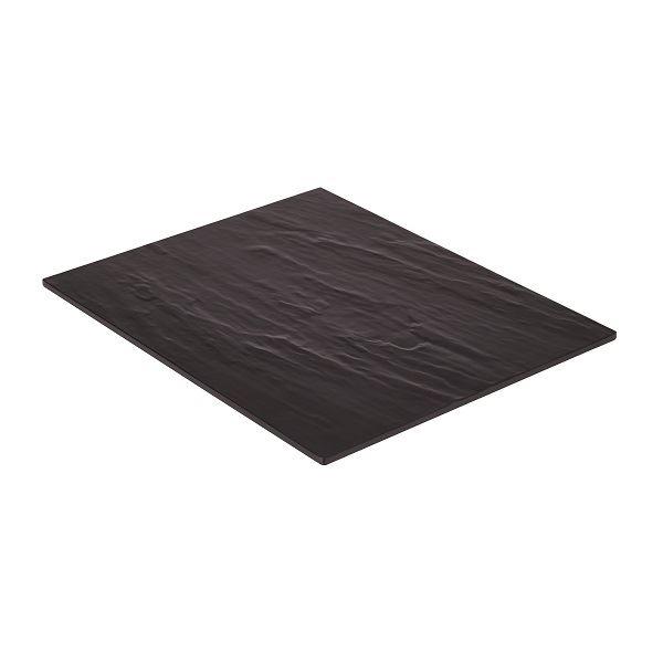 Melamine Platter Black 325 x 265mm