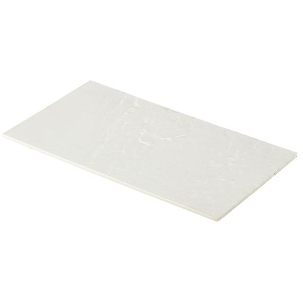 Melamine Platter White 325 x 176mm