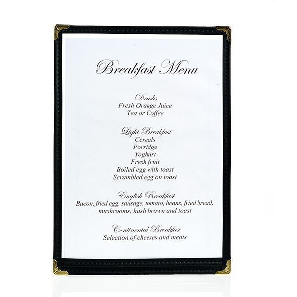 Best Value Clear Menu Holder