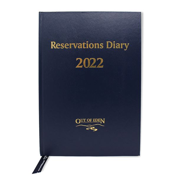 2022 Reservations Diary - A4, Navy