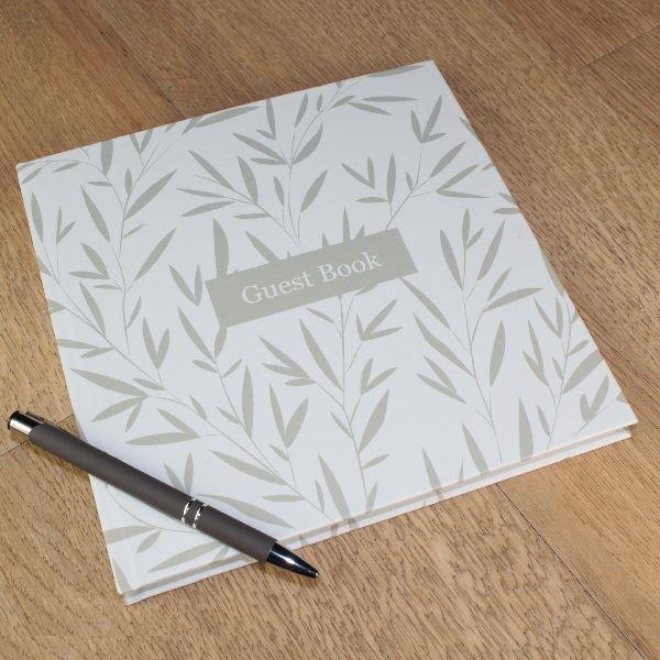Guest Book Leaf Design