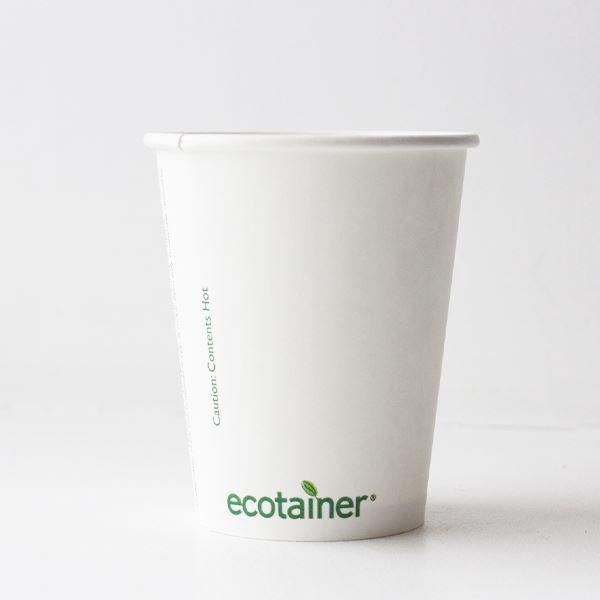 Compostable Paper Cup Vegware 8oz