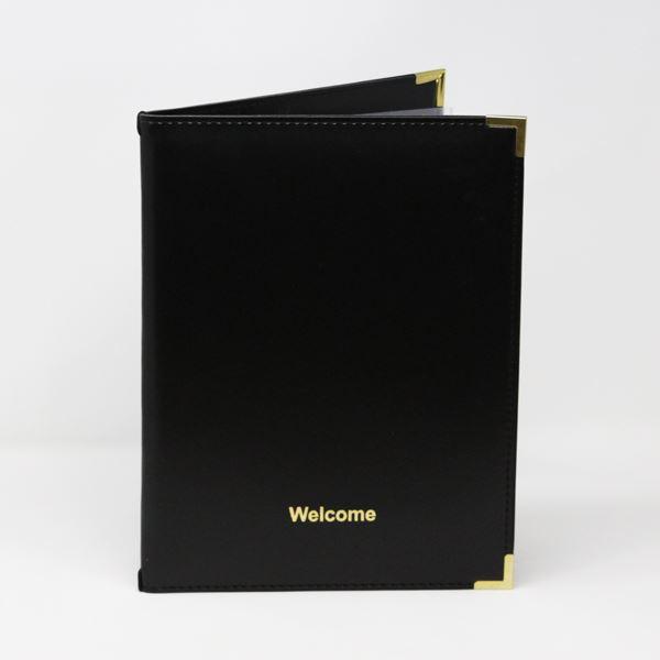 Ryland Welcome Folder Black