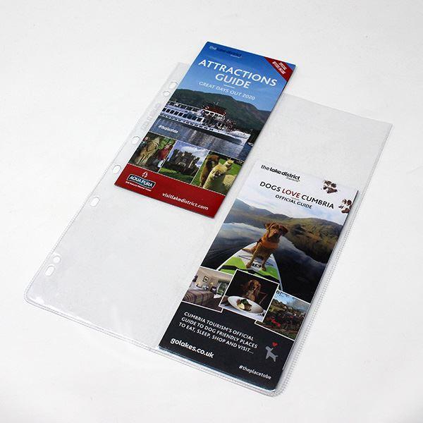 Divided Leaflet Pocket