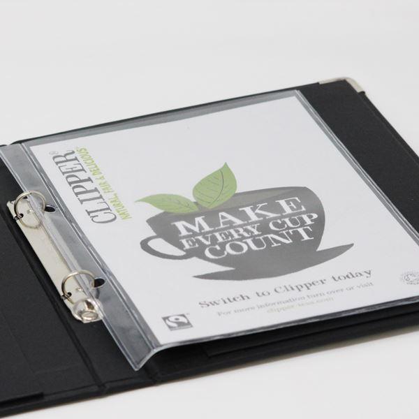 A5 size PVC Display Pocket