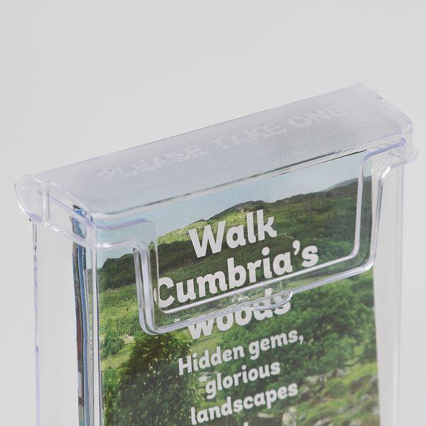 Outdoor 1/3 A4 or DL Leaflet Holder