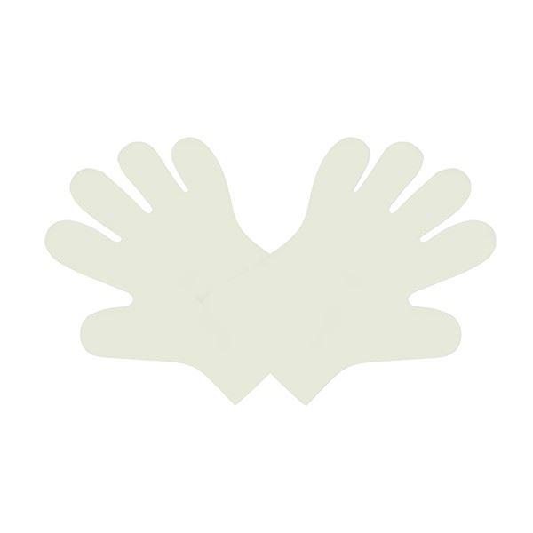 Vegware Disposable & Biodegradable Gloves - Medium - Pack of 100