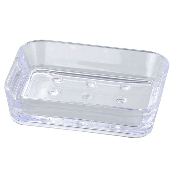 Clear Soap Dish