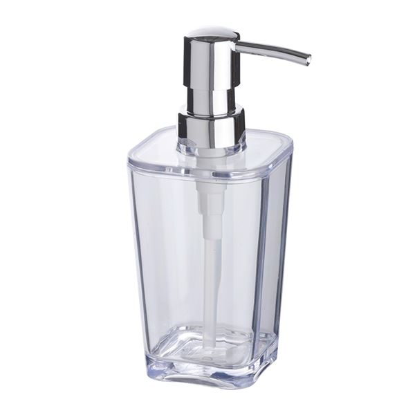 Clear Soap Dispenser