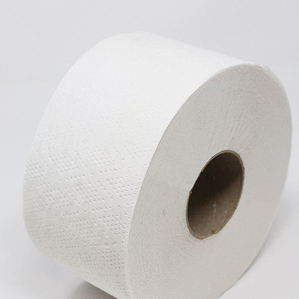 Mini Jumbo Toilet Roll 2 Ply - Pack of 12