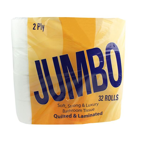 Quilted Toilet Roll 2ply Pack Of 32