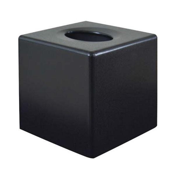Corby Devon Cube Tissue Box Cover Black