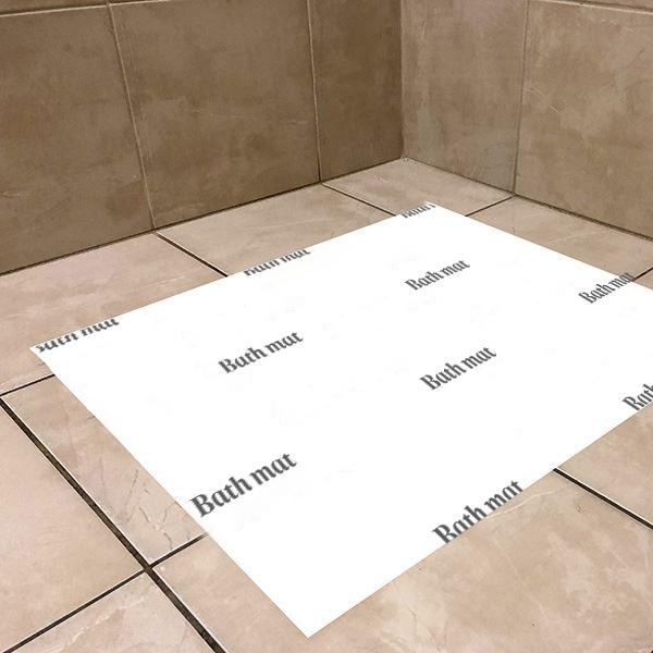 Disposable Paper Bath Mats