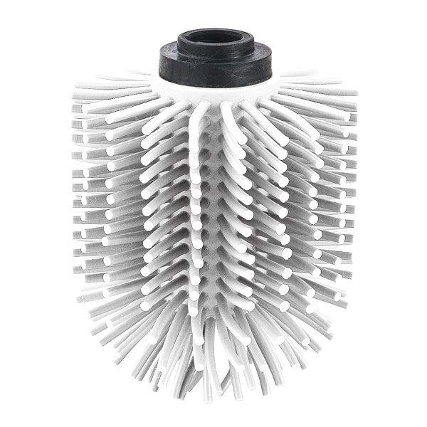 Spare Silicone Toilet Brush Head White