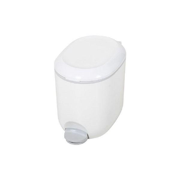Addis Bathroom Pedal Bin - White