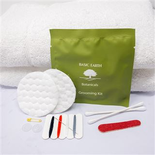 Concept Amenities Basic Earth Grooming Kit Pouch
