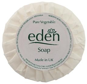 Eden 20g Pleat Wrapped Soaps