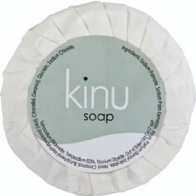 Kinu Pleat Wrapped Soap 20g