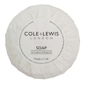 Cole & Lewis Lemongrass & Bergamot Soap 20g