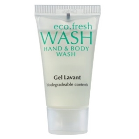 Eco Fresh Hand & Body Wash 15ml Tube