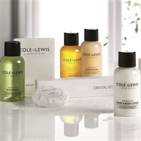 Cole & Lewis  Cole & Lewis Lemongrass & Bergamot Body Wash 50ml Bottle