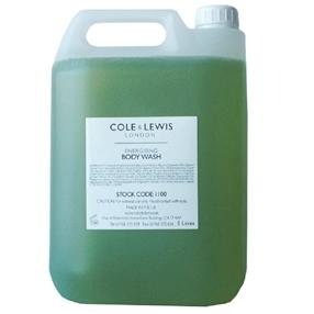 Cole & Lewis Lemongrass & Bergamot Body Wash 5 litre Refill
