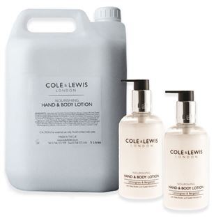 Cole & Lewis Cole & Lewis Lemongrass & Bergamot Hand and Body Lotion 5 litre Refill